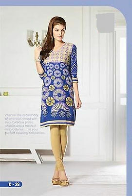 Indian Bollywood Kurta Kurti Designer Women Ethnic Dress 2xl Top Tunic Pakistani