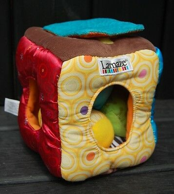 Lamaze play cube, very cute, A must see.