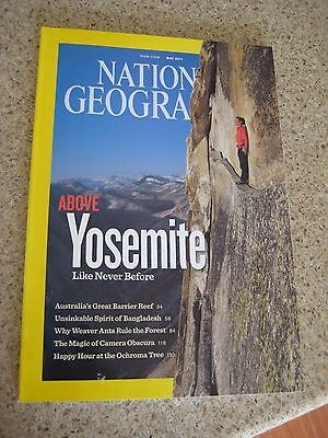 National Geographic 2011 ABOVE Yosemite Super Climbers by fingertip without rope