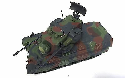 Flakpanzer Gepard MILITARY ARMY VEHICLE 1:72 SCALE - DIECAST TANK PANZER GUN -20