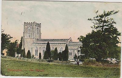 Chilcompton Church - Midsomer Norton Posted 1905 - Somerset - Postcard