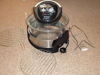 NEW Gino D'Acampo Halogen Oven with Accessories Unwanted Gift Unused.