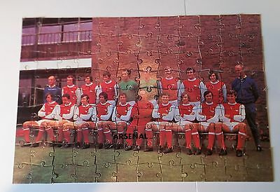 Arsenal Fc Jigsaw Puzzle Rare 1971 Double-Winners Original Complete Uk Item