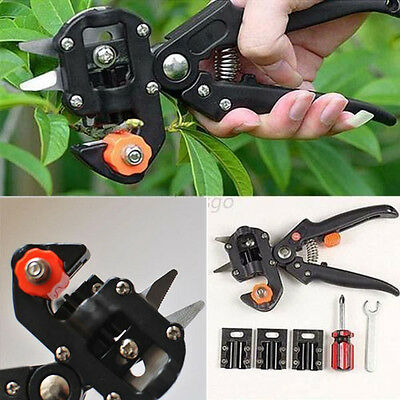New Hot Garden Fruit Tree Pro Pruning Shears Scissor Grafting Cutting Tools Suit