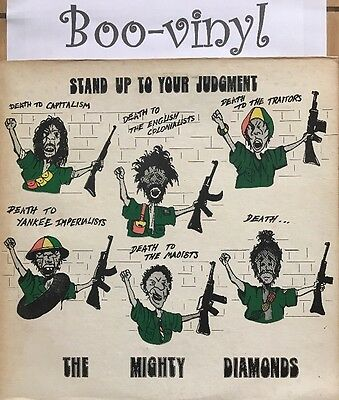 the mighty diamonds  - Stand Up To Your Judgment dub reggae EX+ Con