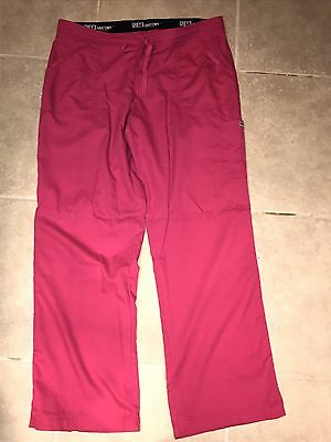 Grey's Anatomy Urban 4 Pocket Drawstring Waist Cargo Scrub Pants XL Tall
