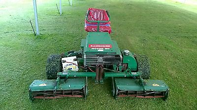 Ransomes Motor 180 Sit On Petrol Lawn Mower