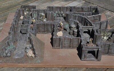 New Miniature Unpainted Resin Gold Mine Set Ainsty Dwarven Forge D&D