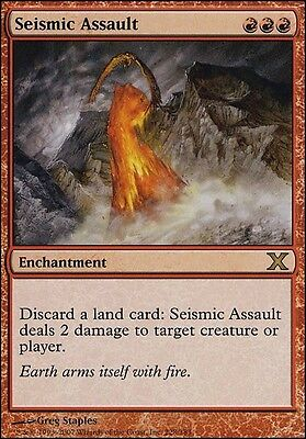 Seismic Assault MTG Magic the Gathering M10 Rare