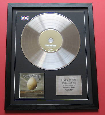 WOLFMOTHER Cosmic Egg CD / PLATINUM LP DISC Presentation