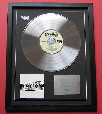 THE PRODIGY The Experience CD / PLATINUM LP DISC Presentation