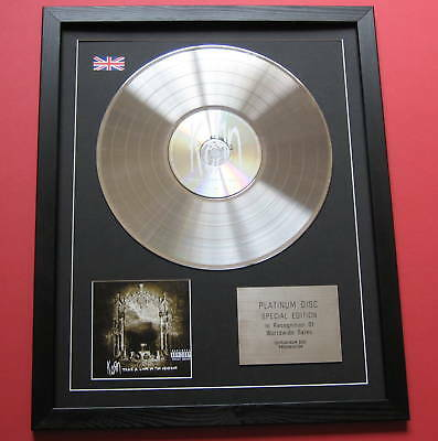KORN Take A Look In The Mirror CD / PLATINUM LP DISC Presentation