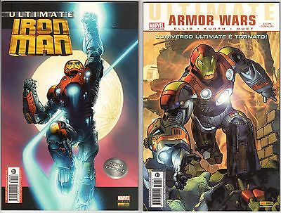 Lotto Ultimate Iron Man/ Ultimate Armor Wars, Marvel Italia