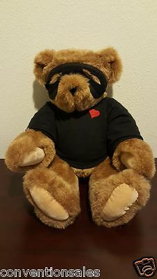 Vermont Teddy Bear Company Love Bandit - Excellent Used Condition!!