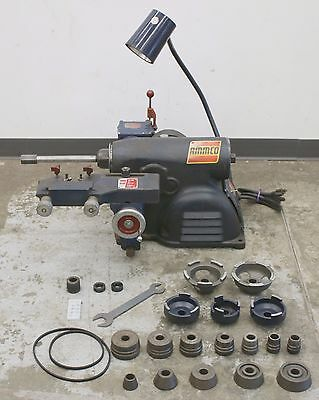 Ammco 7500 Rotor & Disc Brake Lathe w/ Complete Adapter & Centering Cone Kit