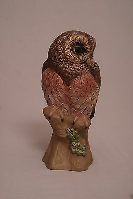 Poole pottery studio largest painted stoneware owl free postage buy it now