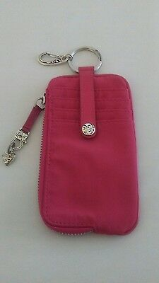 Brighton Twister Mcrfr Id Card And Phone Wallet Pink. E9687P