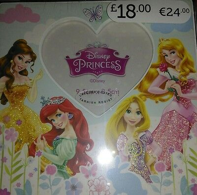 Disney Princess Square Heart Photo Frame  NEW  rrp £18.99 girls .]+