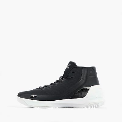 Under Armour Curry 3 Men's Basketball Shoes in Black/White