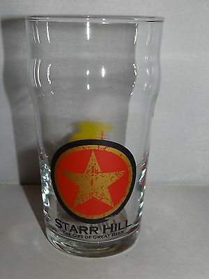 Starr Hill NORTHERN LIGHTS IPA Pint Beer Glass Charlottesville Brewery