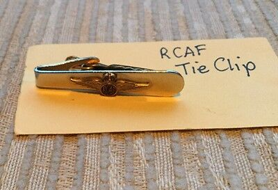 WW2 RCAF Tie Clip Royal Canadian Air Force
