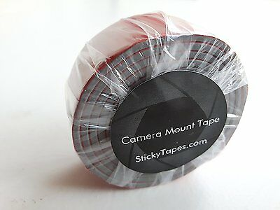StickyTapes Double Sided Camera Mount Tape - 25mm x 60cm