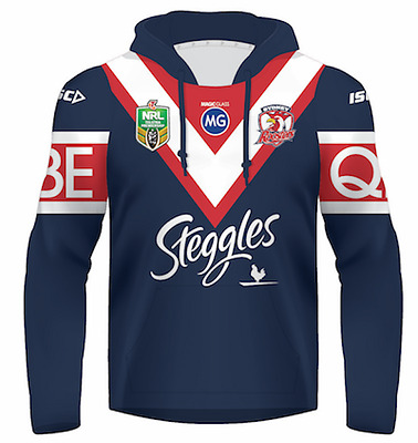 Sydney Roosters 2017 Jersey Hoody - Adults & Kids Sizes Hoodie NRL ISC