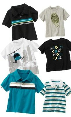 Gymboree Spy Guys 3-6-12-18-24 2T 3T 4T 4 Top Shirts U Pick Blue Helicopter 2011