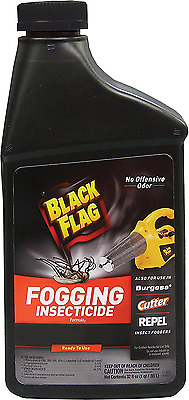 Black Flag 190255 Fogging Insecticide to Control Mosquitoes and Biting Flies Out