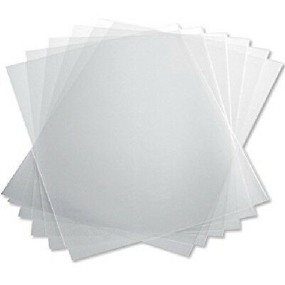 Clear PVC Binding Cover 100pc 10mil Letter 8-1/2x11in Transparent Document Page