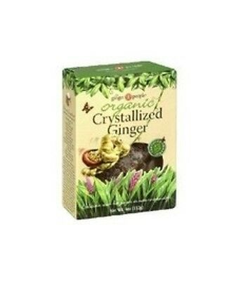 Organic Crystallized Ginger, The Ginger People, 4 oz