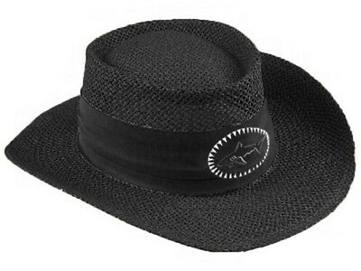 Greg Norman Straw Hat - Black