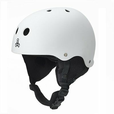 Triple Eight 888 Snow Helmet W/ Audio Snowboard Ski Snow Board Free 3.5mm Audio