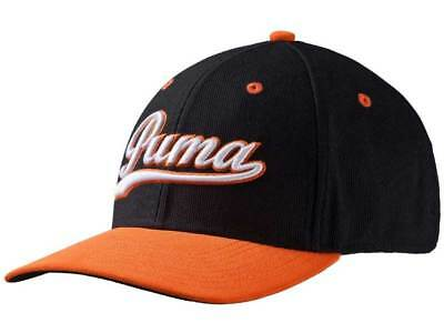 Puma Script Fitted Cap - Orange