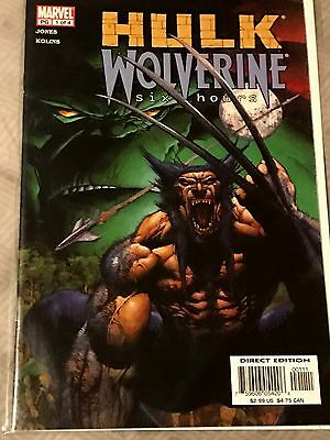 Hulk / Wolverine: Six Hours 1 & 4 - Both NM