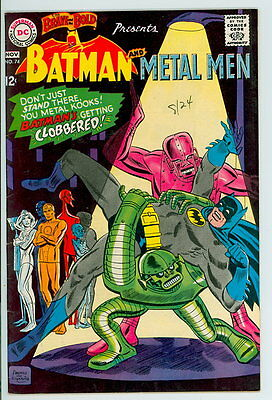 Brave and the Bold #74 D.C. 1967 VF+ Batman and Metal Men