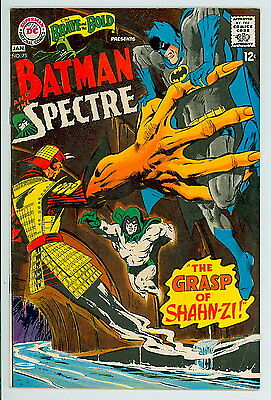 Brave and the Bold #75 D.C. 1967 VF- Batman and Spectre