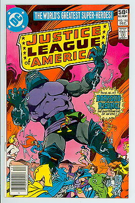 Justice League of America #185 D.C. 1980 NM Darkseid Rising (apparent death)