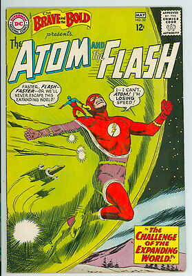 Brave and the Bold #53 D.C. 1964 F/VF Atom and the Flash