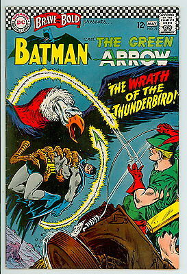 Brave and the Bold #71 D.C. 1967 VF Batman and Green Arrow
