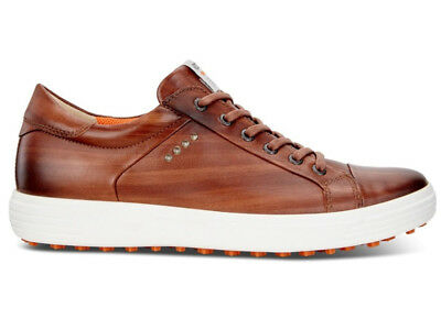 Ecco Casual Hybrid Golf Shoes - Whisky