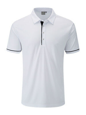 Ping Jasper Tailored Fit Polo - White