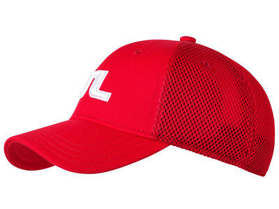 J.Lindeberg Bon Flexi Twill Cap - Red intense