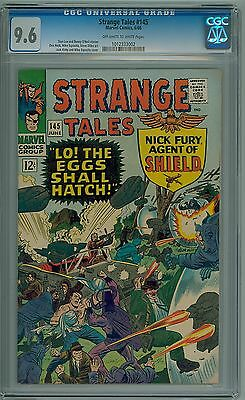 Strange Tales #145 Marvel CGC 9.6 NM+ 1966 Early Doctor Strange