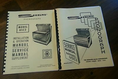 Seeburg Juke Box Model USC1/USC2 Manuals