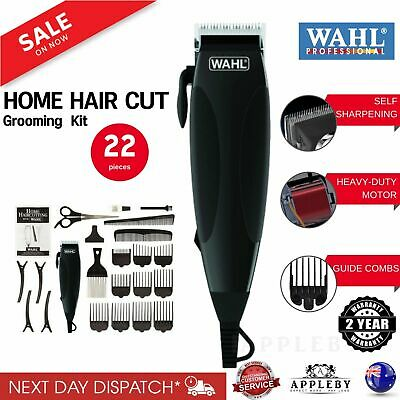 Wahl Mens Electric Hair Clippers Professional Haircut Boys Trimmer Grooming Kit