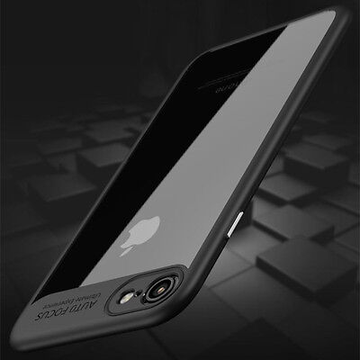 For iPhone 7 6 6s Plus Luxury Slim Hybrid Hard Clear Back Shockproof Case Cover