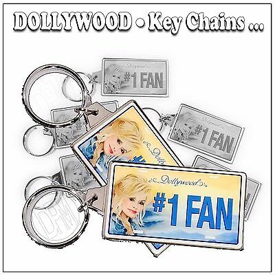 Dollywood Licensed Blue Smoke Collectable Keychain New for 2017 - Dolly Parton
