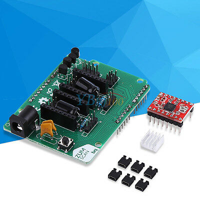 Scanner Shield Board Expansion /w A4988 Driver Board Kits for 3D Printer Hot im