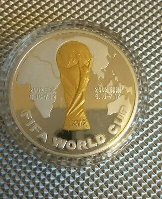 2002 Fifa World Cup Coin Shanghai in coin capsule Mint Condition